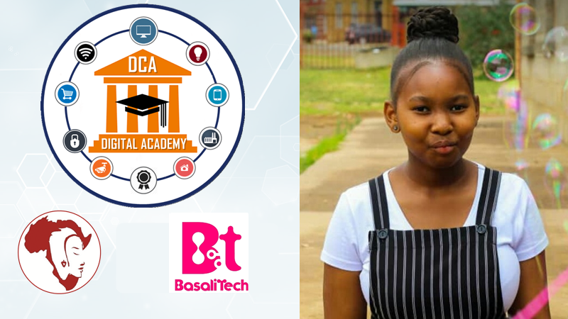 My confidence when sitting behind the computer has grown, I enjoy coding much more - Tebello Thokoa Miss.Africa Digital, BasaliTech Trainee