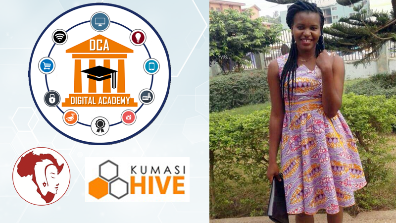 Women a very passionate about their work and everything they do, they bring out great amazing inventions- Matilda Kissibugum Miss.Africa Digital, Kumasi Hive Trainee
