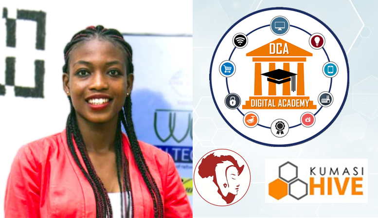 Sandra Juliet Ahiataku, Project Lead-Kumasi, Miss.Africa Digital DCA Academy